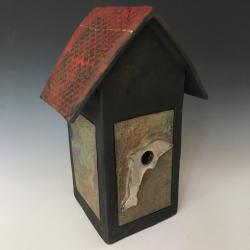 Raku birdhouse
